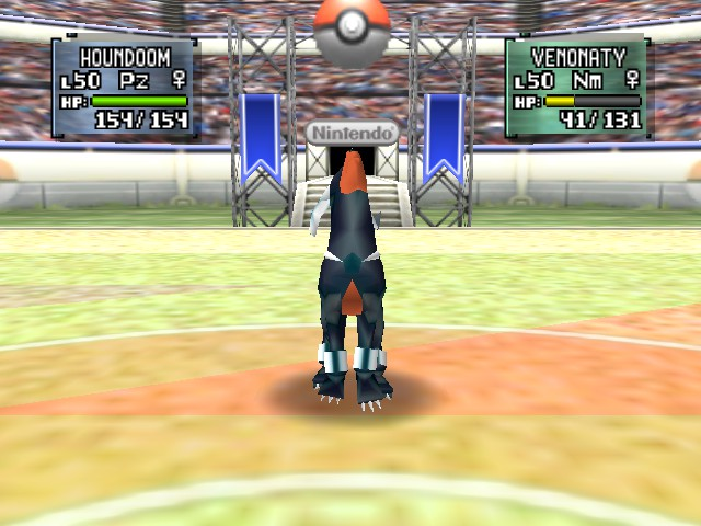 Pokemon Stadium 2 - Battle  - howl - User Screenshot