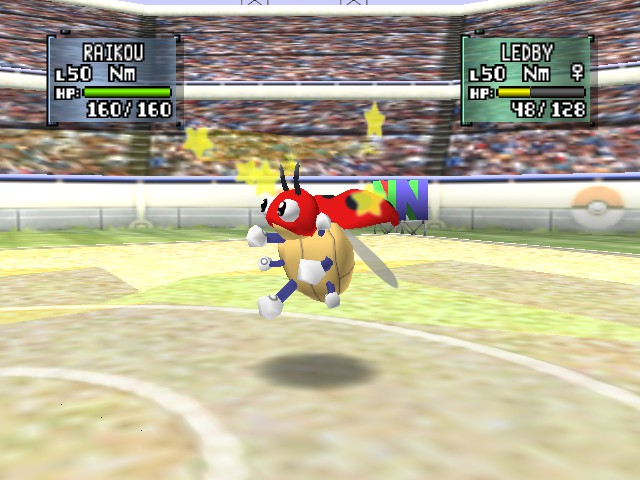 Pokemon Stadium 2 - Battle  - swiftly  - User Screenshot