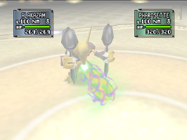 Pokemon Stadium 2 - Battle  - power of the SPOOONS - User Screenshot