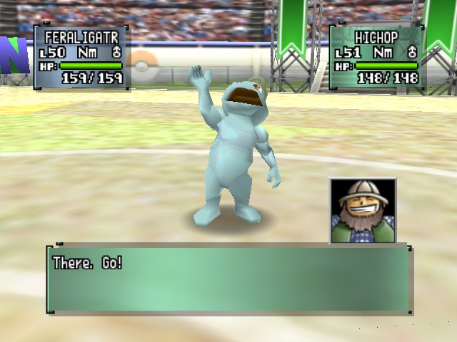 Pokemon Stadium 2 - Battle  - machop - User Screenshot