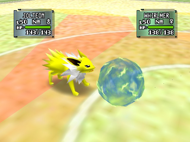 Pokemon Stadium 2 - Battle  - zap cannon - User Screenshot