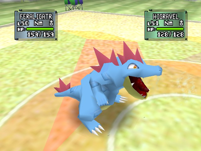 Feraligatr -Battle :roar - User Screenshot