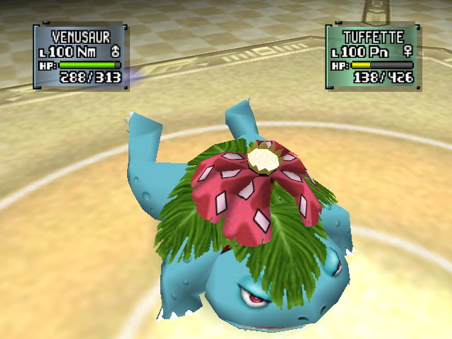 Pokemon Stadium 2 - Battle  - tackle - User Screenshot