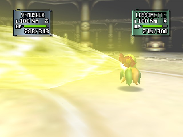 Pokemon Stadium 2 - Battle  - SOLARBEAMMMMM - User Screenshot
