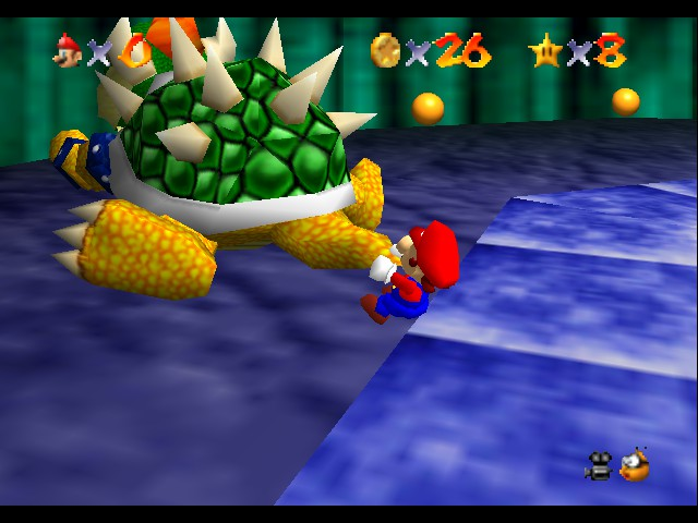 Super Mario 64 - Level Bowser In the Dark World - so long bowser - User Screenshot