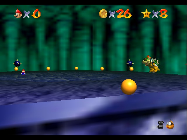 Super Mario 64 - Level Bowser In the Dark World - lets get ready to rumble - User Screenshot