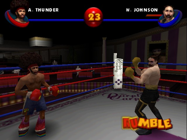 Ready 2 Rumble Boxing - Round 2 - Level Hard lv. - sparked again lol - User Screenshot