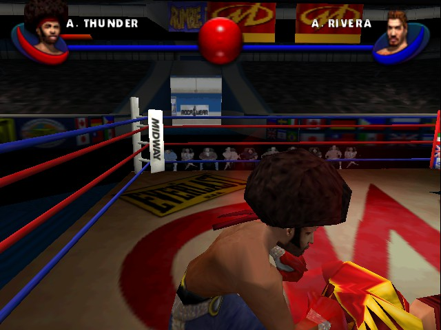 Ready 2 Rumble Boxing - Round 2 - Level Hard lv. - On a roll - User Screenshot