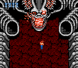 Super Contra - Level Area 6 - Killed it! Die Alien!! - User Screenshot