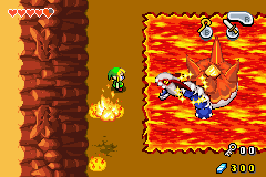 The Legend of Zelda - The Minish Cap - Battle  - Close one - User Screenshot
