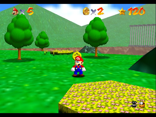 Super Mario 64 - Level Bob-omb Battlefield - First clone on this stage with me EVER! - User Screenshot