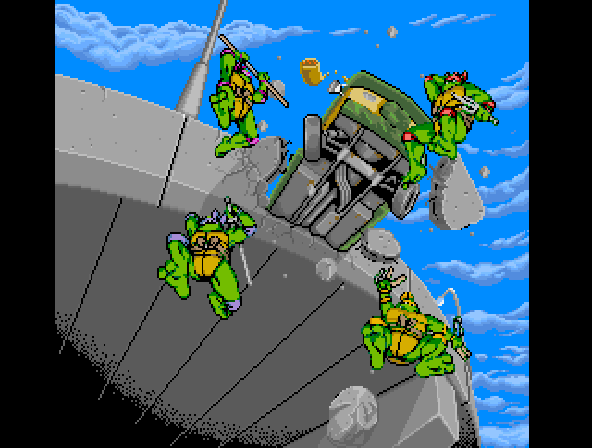 Donatello -Cut-Scene :It
