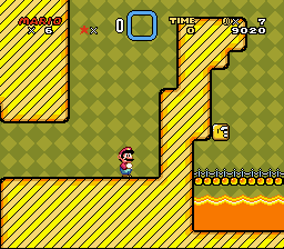 Super Mario Universe - Level  - Switch Palace Time - User Screenshot