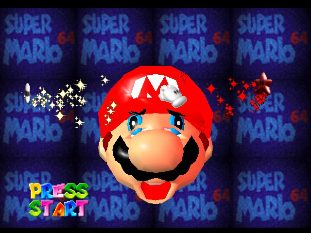 Super Mario 64 - Introduction  - This looks interesting.... - User Screenshot