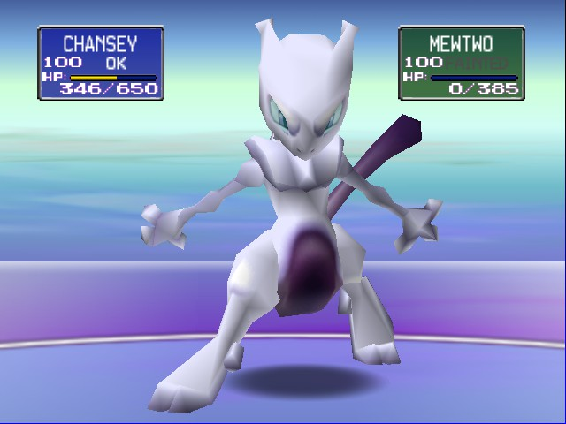 Pokemon Stadium - I (L) Chansey - User Screenshot