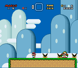 Kaizo Mario World - Yes! finally made it - User Screenshot