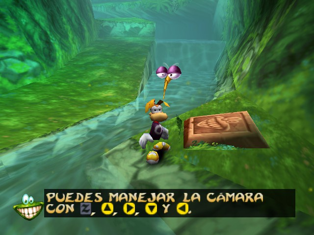 Rayman 2 - The Great Escape - go away! annoying fly. - User Screenshot