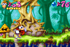 Rayman Advance - BEHOLD MY FACE - User Screenshot