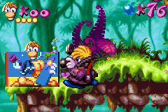 Rayman Advance - i am a MACHO!!! - User Screenshot