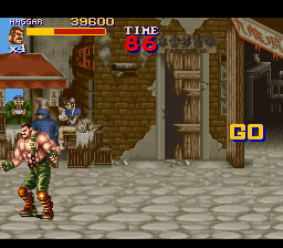Final Fight 2 - Level Round 1 - chun li and a few others - User Screenshot