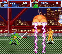 Teenage Mutant Ninja Turtles IV - Turtles in Time - wtf - User Screenshot