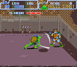 Teenage Mutant Ninja Turtles IV - Turtles in Time - Teenage Mutant Robot Turtles. - User Screenshot
