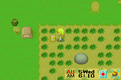 Harvest Moon - More Friends of Mineral Town - nyahah golden lumber - User Screenshot