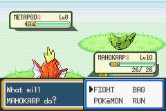 Pokemon Fire Red - Battle  - the never ending battle - User Screenshot