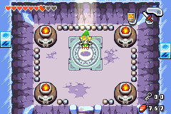 Legend of Zelda, The - The Minish Cap - I am the green mage Link fear me or feel my.. - User Screenshot