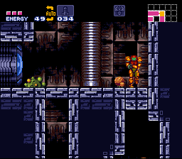 Metroid Super Zero Mission - wall jump and shot LIKE A BOSS - User Screenshot