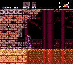 Super Metroid - Boss Rush Mode - so... I need power bombs and there is none :( - User Screenshot