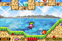Kirby - Nightmare in Dream Land - rock star - User Screenshot
