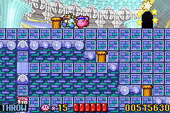 Kirby - Nightmare in Dream Land - he looks scared  - User Screenshot