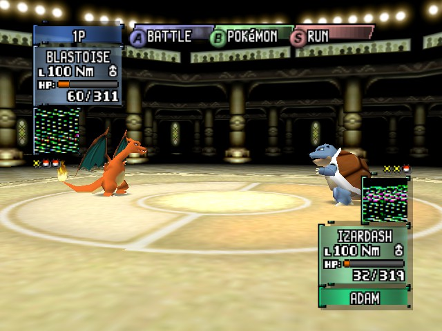 Pokemon Stadium 2 - Awesome Battle - User Screenshot