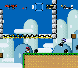 Kaizo Mario World - WTF How do you do this part? - User Screenshot
