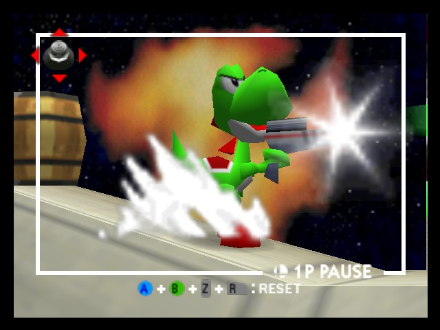 Super Smash Bros. - Mad Yoshi - User Screenshot