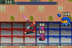 Mega Man Battle Network - Protoman up in this shizznit! - User Screenshot