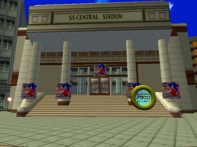 Sonic Adventure - Location Station Square: Station Area - It
