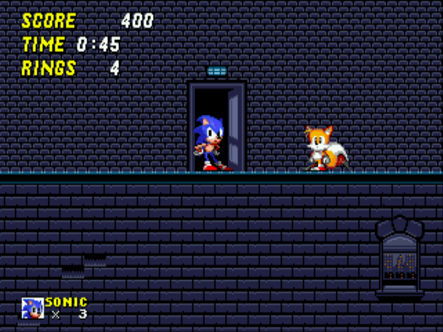 Sonic 2 Long Version - My house. :D - User Screenshot