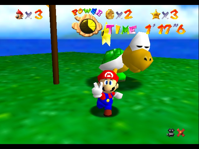 Super Mario 64 - Level  - i win - User Screenshot