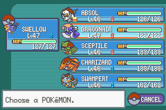 Pokemon Fuligin - Battle  - Only on the third gym LOL :D - User Screenshot