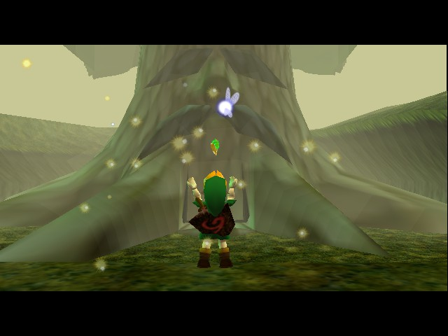 Legend of Zelda, The - Ocarina of Time - Master Quest - wer not worthy wer not worthy!  - User Screenshot