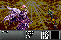 Final Fantasy VI Advance - Killed Kefka in 1 round :D - User Screenshot