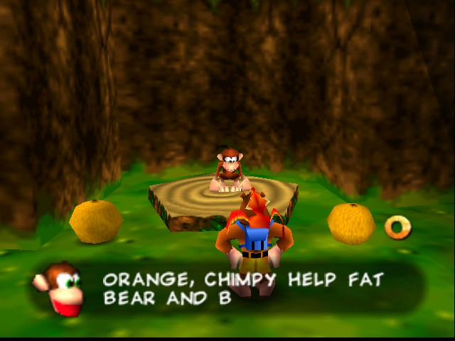 Banjo-Kazooie - mean monkey... - User Screenshot