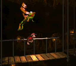 Donkey Kong Country - Froggy Time! - User Screenshot