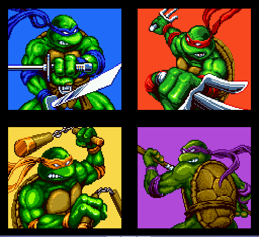 Teenage Mutant Ninja Turtles - Return of the Shredder -  - User Screenshot