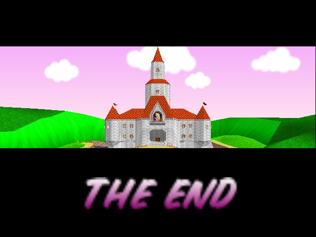 Mario Kart 64 - Gameover  - Last Screen after Credit Scenes! - User Screenshot