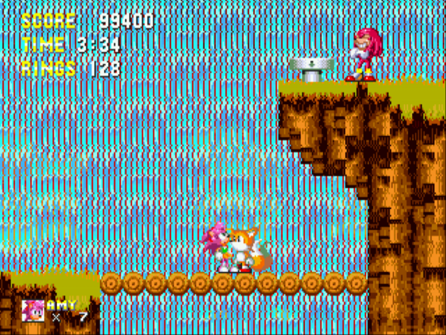 Play Sonic 3 & Amy Rose Online GEN Rom Hack of Sonic the Hedgehog 3