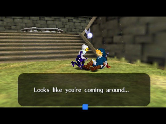 The Legend of Zelda - Ocarina of Time - Cut-Scene  - what you mean?! - User Screenshot