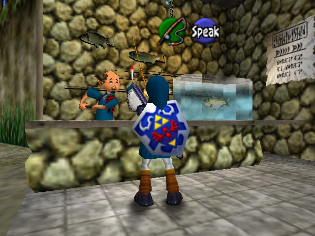 The Legend of Zelda - Ocarina of Time - Location  - Got your  Hat.. - User Screenshot